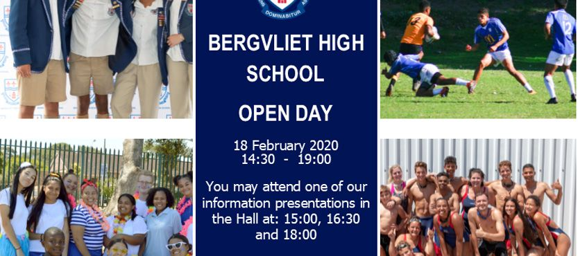 BHS Open Day 2020